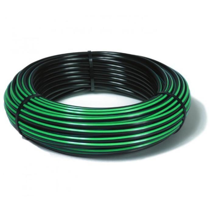 1  x 150m Green Stripe Rural Poly Pipe