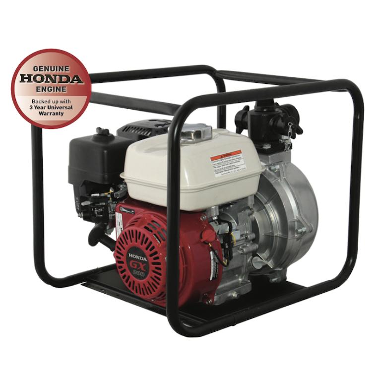 Honda GX200 Recoil Start Single Impeller Fire Fighting Pump